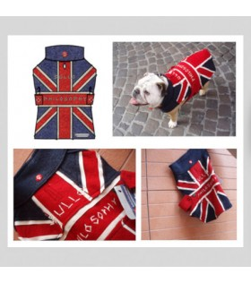 OXFORD Union Jack for English bulldog